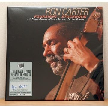 Ron Carter - Foursight - Stockholm 2x LP autograf