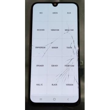 Wyświetlacz Samsung a40 uszkodzony