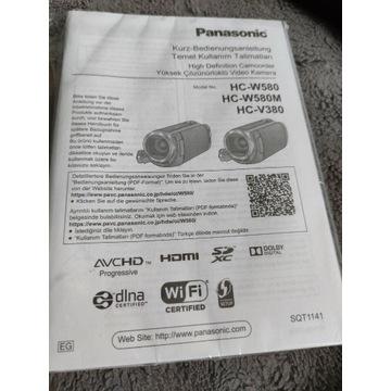 Kamera Panasonic hcv380 ,dotyk,5stabilizacji,wifi!