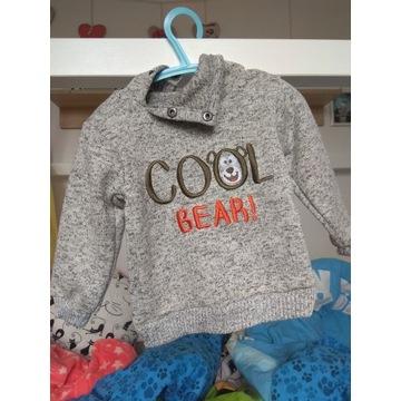 Ciepły sweterek firmy Ergee rozm 68