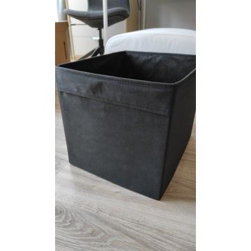 Ikea Drona czarne pudełka do regału Kallax 3szt