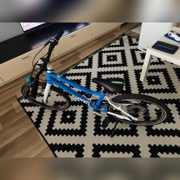 Rower dziecinny  woom 4 niebieski - jak nowy