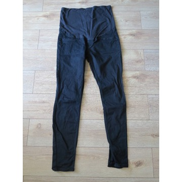 Spodnie jeansowe ciążowe rurki H&M 42