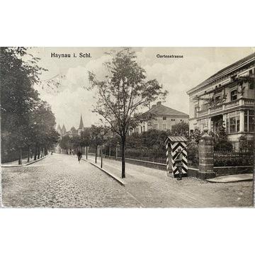 Chojnów, Haynau i. Schl. Gartenstrasse, Legnica