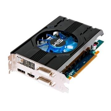 AMD Radeon HIS 6770 1GB GDDR5 PCI-E DP/2xDVI/HDMI