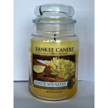 SCHNITZEL WITH NOODLES Yankee Candle duża (2012)