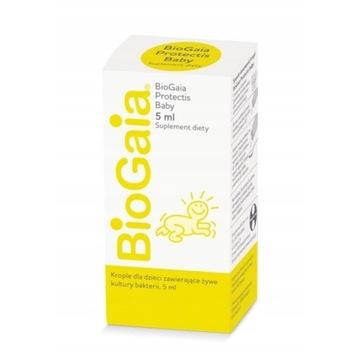2x BIOGAIA protectis baby , krople probiotyczne