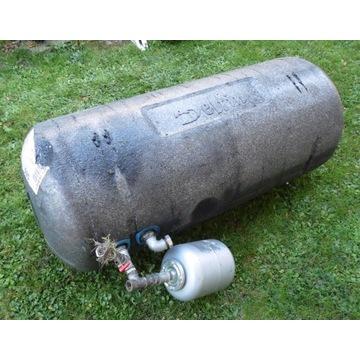 Bojler, wymiennik dwupłaszczowy o poj. 140 litrów.