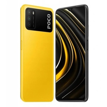 Smartfon Xiaomi POCO M3 4/128GB Yellow zółty Z PL
