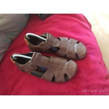 Sandały skórzane Ecco 41