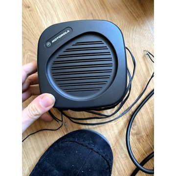 Głośnik Motorola wraz z wtyczką