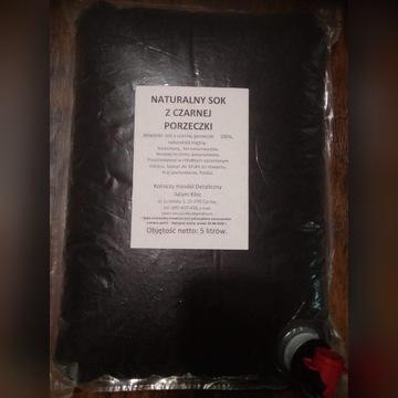 Sok z czarnej porzeczki 100%. 5 l, na odporność.