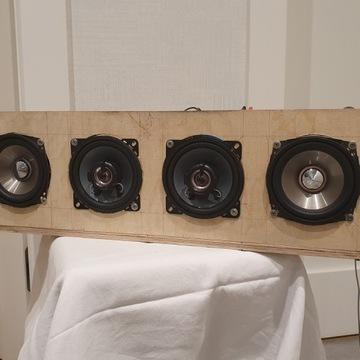 """Głośnik """"przenośny"""" 4x100W - niedokończony projekt"""
