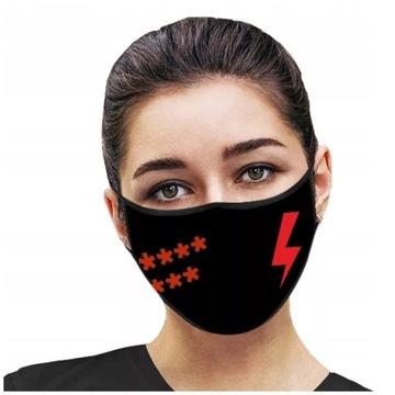 Maseczka Strajk Kobiet ***** *** cena za 2szt!!!!