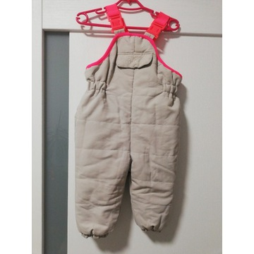 Spodnie narciarskie Zara r.78