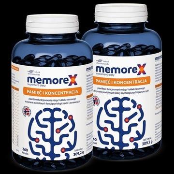 Memorex - 2 opakowania  (720 kapsułek)
