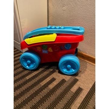 Mega Bloks, klocki z wózkiem, Sorter kształtów