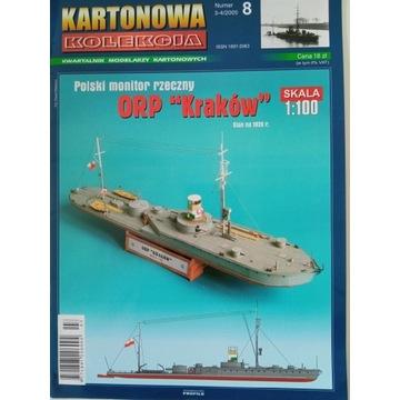 ORP Kraków Kartonowa Kolekcja Rarytas!