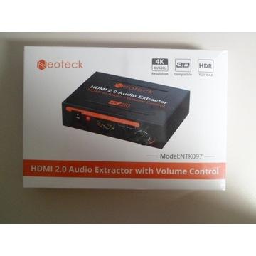 HDMI AUDIO EXTRACTOR NEOTECK 4K/60Hz
