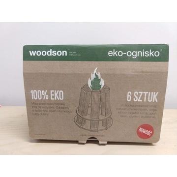 Rozpałka woodson eko-ognisko - 6 szt.