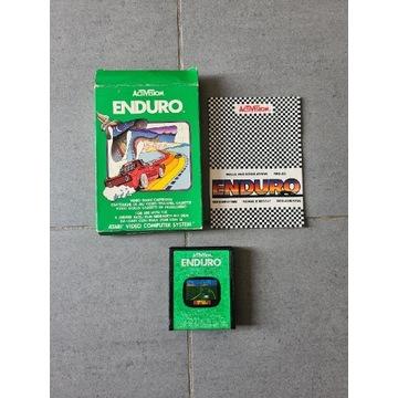 """Atari 2600 """"Enduro"""" komplet"""