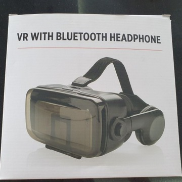 Okulary 3D VR Headset XD Bluetooth ze słuchawkami
