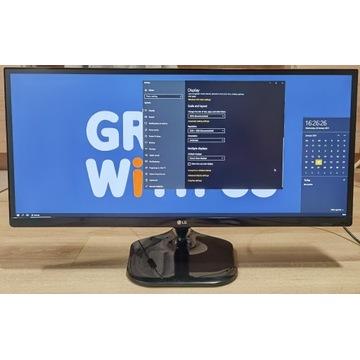 """Monitor LG 29UM58 29"""" LED IPS 21:9 HDMI"""
