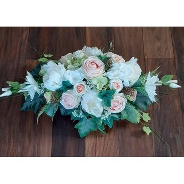 Kompozycja  nagrobna kwiatowa  stroik