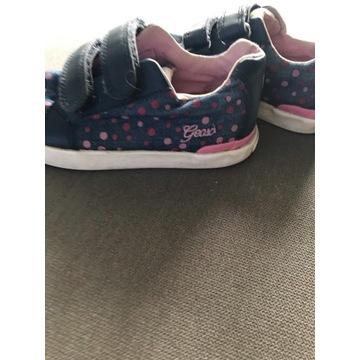 Sneakersy GEOX rozm. 25 (16,7 cm) kropki
