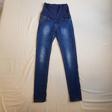 Spodnie jeansy ciążowe 36