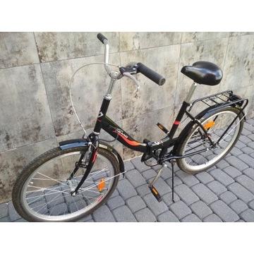 Rower składany czarny