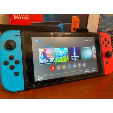 Nintendo Switch przenośna konsola do gier szara 15
