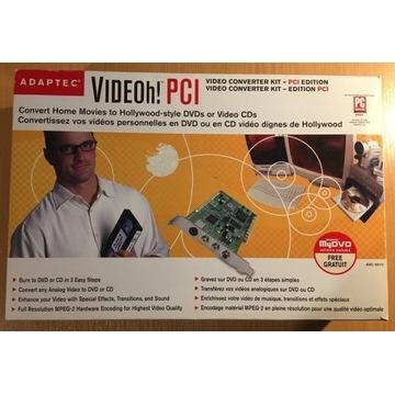 VideOh! PCI (AVC-2010) - taśma video -> plik