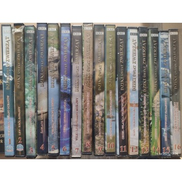 Dziki Świat Zwierząt. Filmy DVD. Przyrodnicze