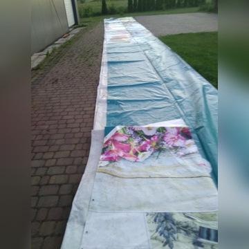 PLANDEKA 9 x 18 m BUDOWLANA GRUBA