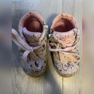Buty adidasy traperki w kwiatki 23 dziecięce