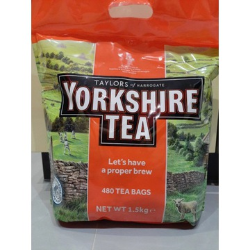 Yorkshire tea herbata czarna ekspresowa 480 bags