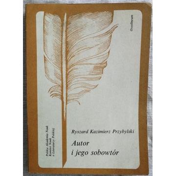 Ryszard K. Przybylski - Autor i jego sobowtór