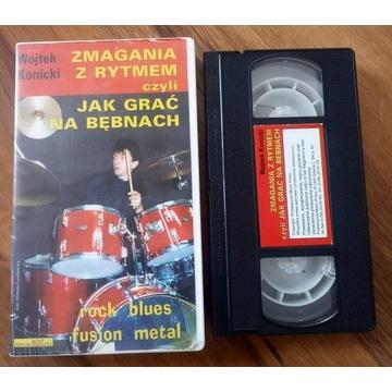 Jak grać na bębnach VHS Wojtek Konicki