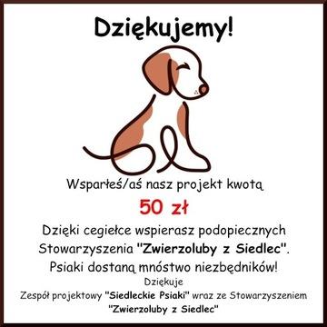 Cegiełka o wartości 50 zł