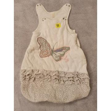 Śpiworek niemowlęcy z motylkiem 0-6 msc Cool Club