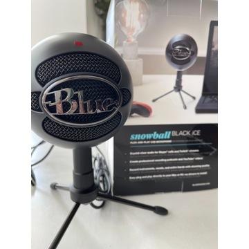 Nowy mikrofon snowball black ice