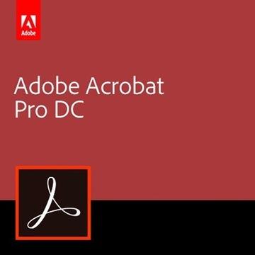 Adobe Acrobat Pro DC 2020 32/64Bit nowy!