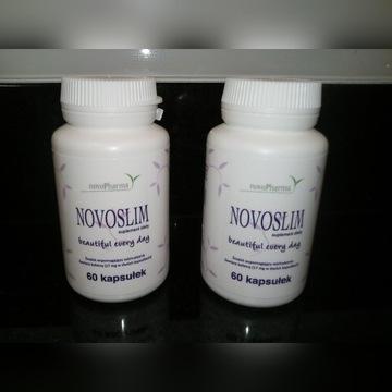 Novoslim tabletki 2 opakowania po 60 tabl.