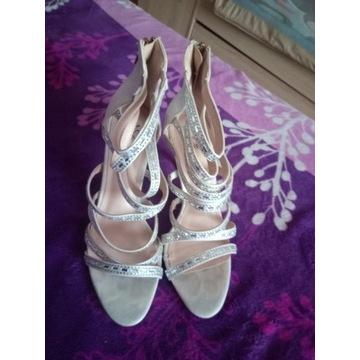 Sandały damskie r.38