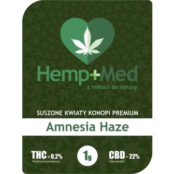 Amnesia Hazee Susz CBD 22% 1g  Hemp Med