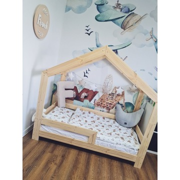 Łóżeczko domek, łóżeczko dla dziecka - ZALICZKA