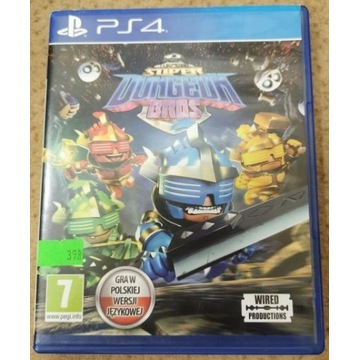 Super Dungeon Bros PL PS4