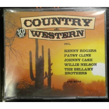 Country 3 CD BOX Patsy Cline Bellamy Brothers