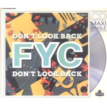 FINE YOUNG CANNIBALS-DON'T LOOK BACK-MAXI CD